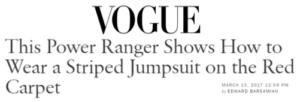 Vogue Interview Article Ludi Lin Saban Power Ranger Movie