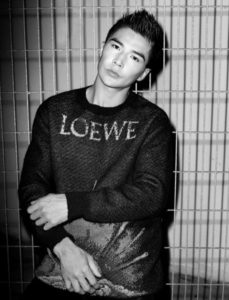 Ludi Lin Men's Folio Magazine Photoshoot