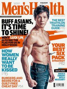 Ludi Lin Mens Health Singapore Magazine Cover 2019