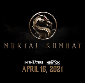 Ludi Lin in Mortal Kombat Movie Logo