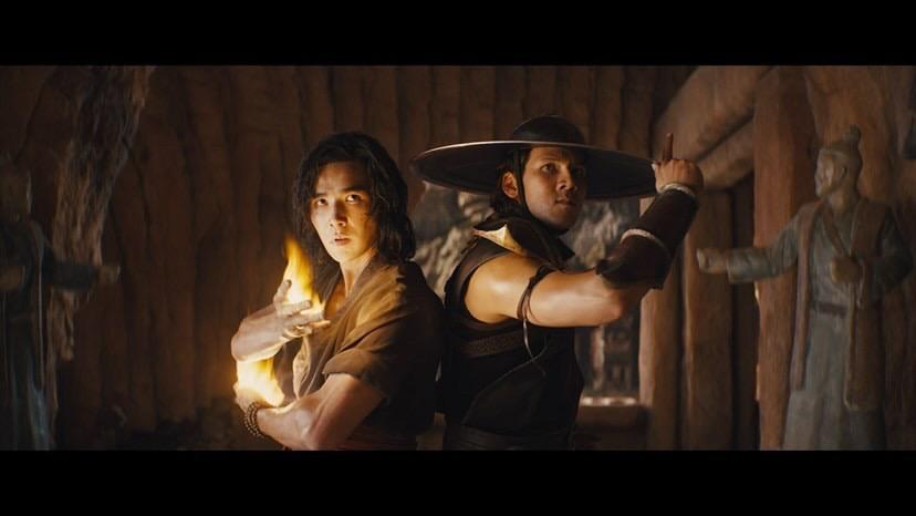 Mortal Kombat Movie Liu Kang Ludi Lin Kung Lao Max Huang